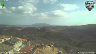 Hum, Pogled prema istoku 13-03-2015 Day HD TimeLapse