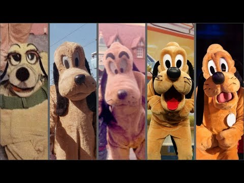 Evolution Of Pluto In Disney Theme Parks! Distory Ep. 5! Disney History