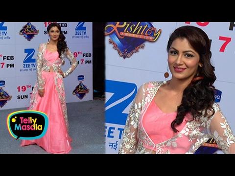 Sriti Jha aka Pragya's Aerial Act At Zee Rishtey A