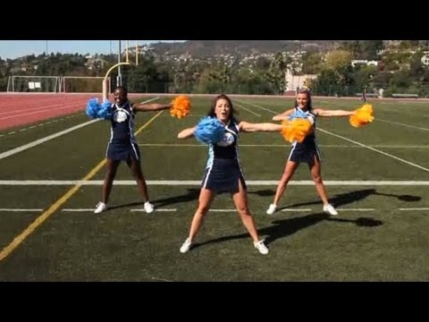 sideline cheers - Watch more How to Be a Cheerleader videos: http://www.howcast.com/guides/792-How-to-Be-a-Cheerleader Subscribe to Howcast's YouTube Channel - http://howc.st/...