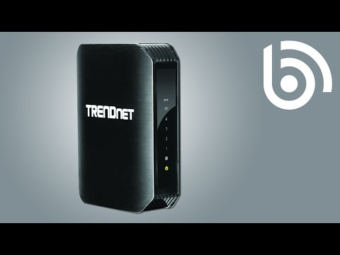 TRENDnet TEW-751DR WiFi Router Introduction