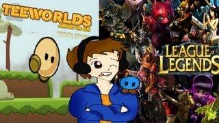 #XodaEnVivo Noche de LOL, TeeWorlds y Entradas para Video Games Live !