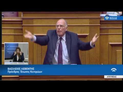 Β.Λεβέντης(Πρ.Έν.Κεντρώων)(Αναθεώρηση Συντάγματος)(13/02/2019)