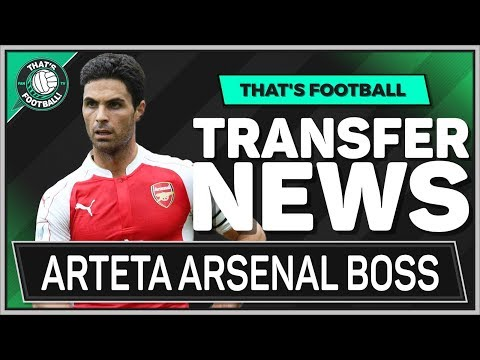 DONE DEAL: Mikel ARTETA New ARSENAL Manager? LATEST Transfer News