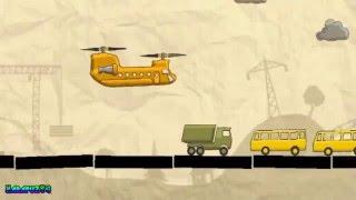 Детский Мультик Вертолет крадет машинки
