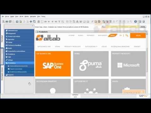 SAP Business One - Elementy SDK, tworzenie obiektów użytkownika cz. 1 z 2
