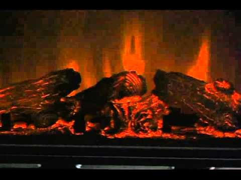 Video for Claremont Mahogany Convertible Media Electric Fireplace