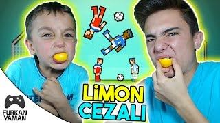 LİMON CEZALI FURKAN VS ENES - Soccer Physics