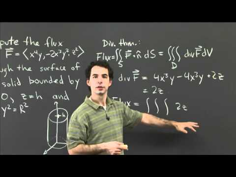 Flux and the divergence theorem   MIT 18.02SC Multivariable Calculus, Fall 2010