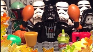 Thanksgiving Star Wars style. Oh and if you don't know what Thanksgiving is, it's a time where you give thanks, duh.