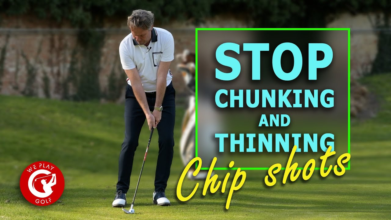 How to hit chip shots around the green with 58 or 60 degree wedge