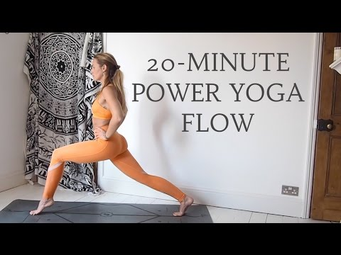 20-minute Power Yoga Flow | Intermediate Level | Cat Meffan