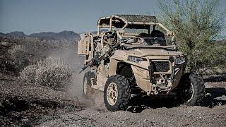 9. Polaris Defense Unveils Turbo Diesel MRZR