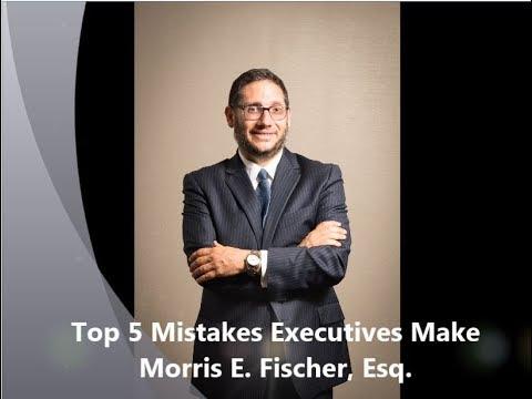 Top 5 Mistakes Executives Make