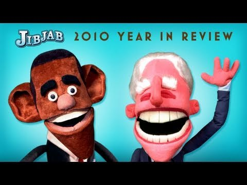 2010 - This year we've turned Obama and Biden into puppets to sing a duet of regret. After a grueling year of Wikileaks and oil spills, join our Oval Officers in ki...
