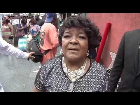 Shirley Caesar Walk of Fame Ceremony