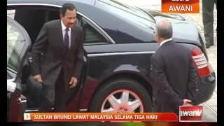 Selama Malaysia  City pictures : Sultan Brunei buat lawatan ke Malaysia selama 3 hari