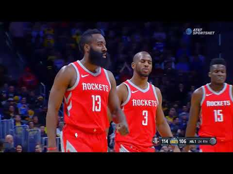 James Harden hits stepback dagger to ice Nuggets