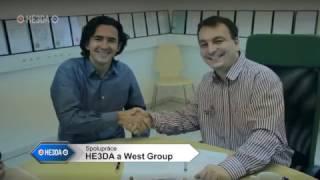 Přátelská návštěva v HE3DA z daleké Afriky