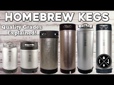 Homebrew Kegs Quality Grades Explained