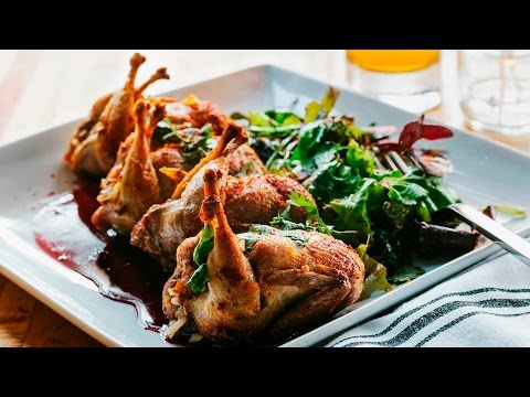 How To Cook Comedor's Crispy Quail