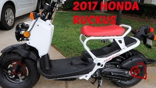 4. 2017 Honda Ruckus   Yolanda's Life Vlogs