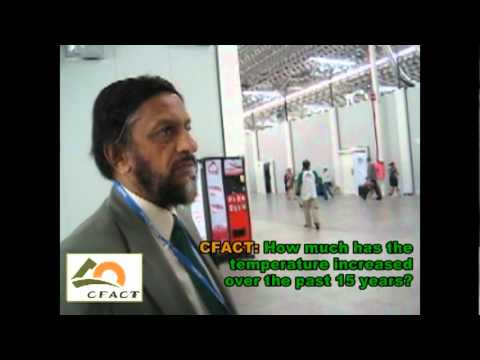 cfact - At COP16, the UN Climate Change Conference in Cancun, Mexico, CFACT interviewed the chair of the IPCC, Rajendra Pachauri. When asked about the fact that ther...