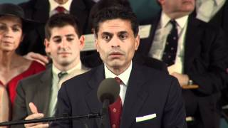 Fareed Zakaria Commencement Speech || Harvard University Commencement 2012