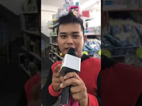Malaysia Melayu Karaoke King-First Try To Sing On Live--failure King
