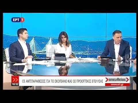 Κ. Κυρανάκης στην ΕΡΤ- 4