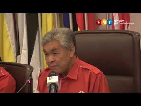 Zahid tidak tahu Shukri desak gugur Najib