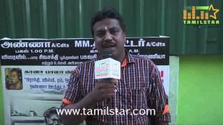 VK Kannan at Appa Venampa Movie Team Interview