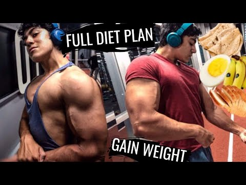 FULL DAY OF EATING Indian Bodybuilding (हिंदी)🇮🇳Diet Plan for Students | Fast Weight & Muscle Gain