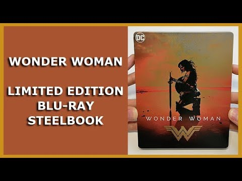WONDER WOMAN - LIMITED BLU-RAY STEELBOOK UNBOXING - SATURN EXCLUSIVE