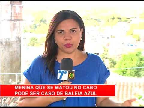 [RONDA GERAL] Menina que se matou no Cabo pode ser caso de Baleia Azul