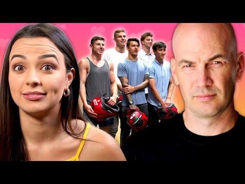 Twin My Heart Season 1 EP 4  w/ The Merrell Twins - Dad vs My 5 Boyfriends   AwesomenessTV