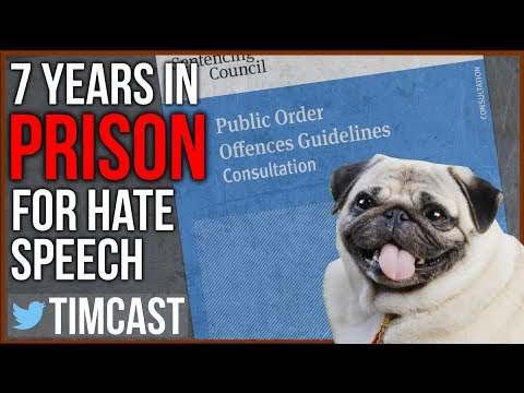 7 Years in Prison For Hate Speech