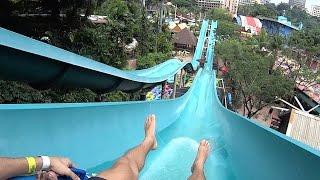 Cameroon Climb water park slide at Sunway Lagoon aqua theme park in Bandar Sunway, Subang Jaya, Selangor, Malaysia.