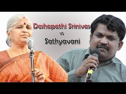 Videos Political Sathyavani vs Deshapathi Srinivas Excellent Debate On Telangana