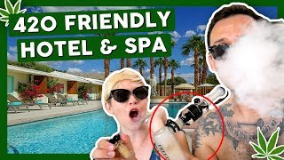 Our Favorite 420 FRIENDLY HOTEL in California! by That High Couple