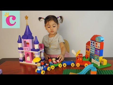 Играем с наборами Лего 10595, 10558, 10616 Playing with Lego Duplo sets ► София маленькая