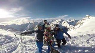 Les Deux Alpes France  city photos : Les Deux Alpes 2016 GoPro Ski Trip