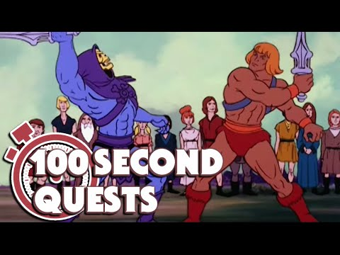 He Man Official |100 Second Quests | Cosmic Comet | Recap | Cartoons for Kids