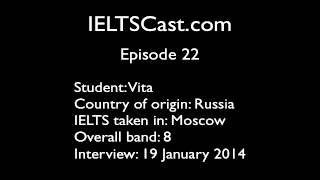 Episode 22 - Vita Scores Band 8 With Only A Week Of IELTS Prep!