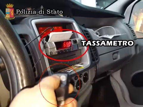 Scoperta truffa dei taxisti: un telecomando altera il tassametro