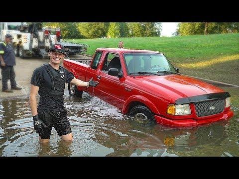 Found Sunken Truck Underwater in the River at Boat Ramp! (Recovered Truck for Owner)_Legjobb videók: Búvárkodás