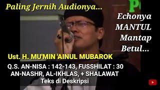 Video QIROAH - UST. H. MU'MIN 'AINUN MUBARAK - HAUL PP AL-HUDA KEBUMEN 2011.DAT MP3, 3GP, MP4, WEBM, AVI, FLV Agustus 2018