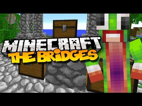 "Minecraft: The Bridges - ""INVISIBLE PLAYER!"" (Mineplex Bridges)"