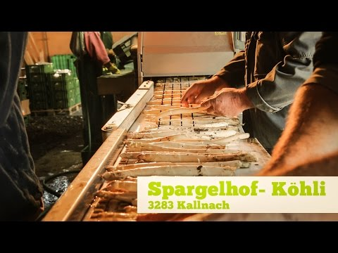 Spargelhof Köhli: Die Spargelsaison hat begonnen!