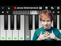 Ed Sheeran - Shape Of You - Mobile Perfect Piano Tutorial